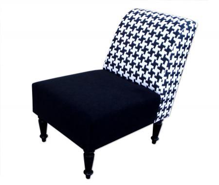 fotel w pepitkę